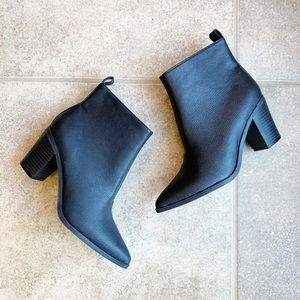 Old Navy Black Jack Pointed Toe Ankle Boots